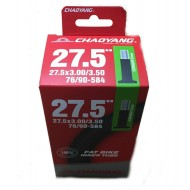 """Велокамера CHAO YANG 27.5"""" x 3.0/3.5"""" автовентиль (полу FAT BIKE)"""