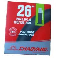 "Камера chao yang 26"" x 4.0"" для Фэтбайка"