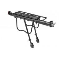 """Багажник 20""""-28"""" BLF-H27-4 универсальный быстросъёмный алюминиевый чёрный"""