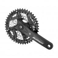 Система Prowheel Burner-401-N, 3х9 скоростей, 22-32-44T, 175 мм, черная, MTB