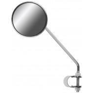 Зеркало заднего вида FS-501 со светоотраж. стальное хромированное